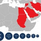 area azione virus flame iran-israele